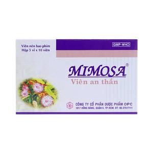 Viên An Thần Mimosa (Hộp 5 vỉ x 10 viên)