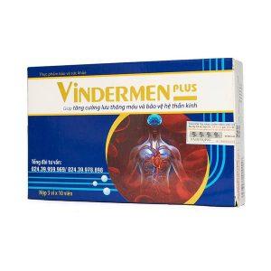 Vindermen Plus - Hỗ Trợ Điều Trị Đau Dây Thần Kinh (Hộp 3 Vỉ x 10 Viên)