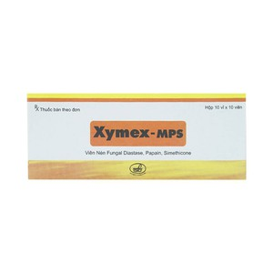 Xymex-Mps (Hộp 10 vỉ X 10 viên)