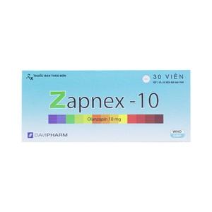 Zapnex 10 (Hộp 3 vỉ x 10 viên)