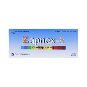 Zapnex 5 (Hộp 6 vỉ x 10 viên)