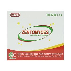 Zentomyces Mebiphar (Hộp 30 Gói x 1g)