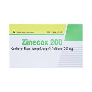 Zinecox 200 (Hộp 2 vỉ x 10 viên)