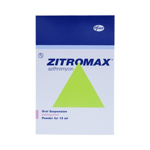 Zithromax 200Mg/5ml (Hộp