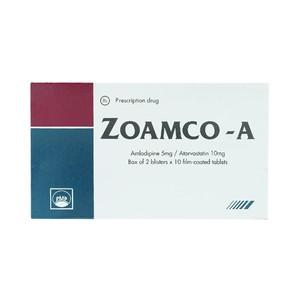 Zoamco - A (Hộp 2 vỉ x 10 viên)