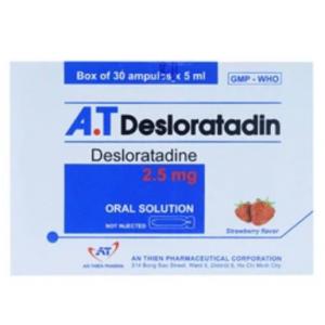 A.t Desloratadin (30 Ống X 5ml)