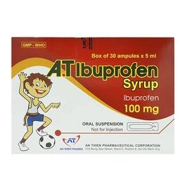 A.t Ibuprofen Syrup 100Mg An Thiên 30 Ống X 5Ml - Hỗn Dịch Uống