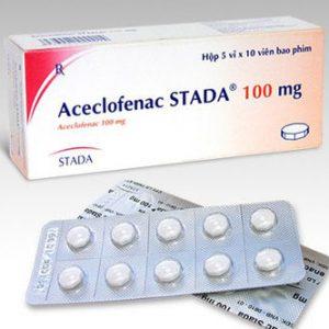 Aceclofenac Stada® 100 Mg (5 Vỉ x 10 Viên)