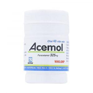 Acemol 100 (100 Viên)