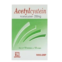Acetylcystein 200Mg 10X10 29 Nadyphar