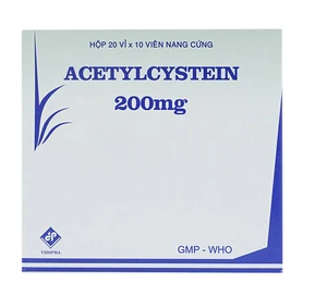 Acetylcystein 200Mg