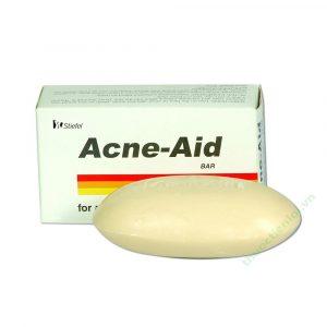 Acne Aid Bar xà bông trị mụn hộp 100g (Hộp 1 bánh xà bông 100g)