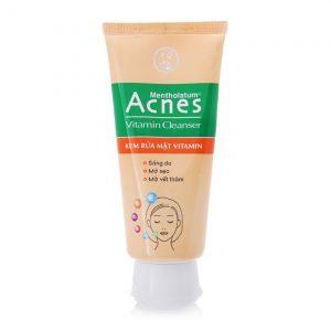 Acnes Vitamin Rửa mặt tube 100g Rohto (Tuýp 100g)