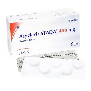 Acyclovir Stada® 400 Mg (7 Vỉ x 5 Viên)