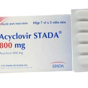 Acyclovir Stada® 800 Mg