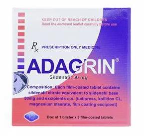 Adagrin 50Mg Ica Pharm