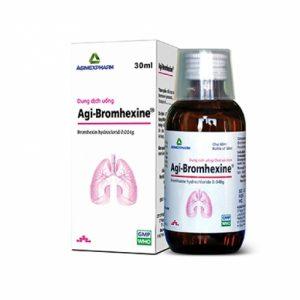 Agi-Bromhexine Agimex 60Ml (Chai)
