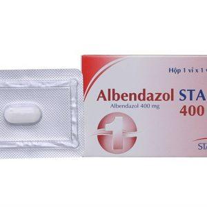 Albendazol 400Mg (1 Vỉ x 1 Viên)