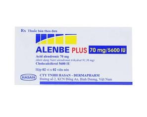 Alenbe Plus 75Mg5600Iu Hasan 2X2