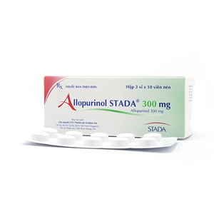 Allopurinol 300 Stada (Hộp 3 vỉ x 10 viên nén)