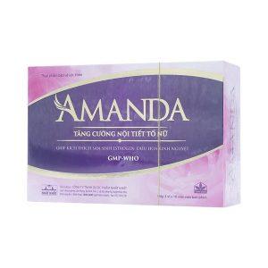 Amanda 3X10 (Hộp 3 Vỉ x 10 Viên)