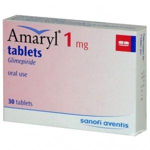 Amaryl 1Mg
