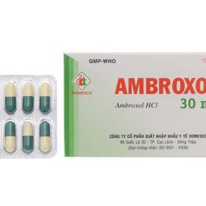 Ambroxol 30mg Viên Domesco (Hộp)