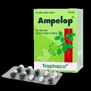 Ampelop - Hỗ Trợ Điều Trị Viêm Loét Dạ Dày (9 Vỉ x 10 Viên)