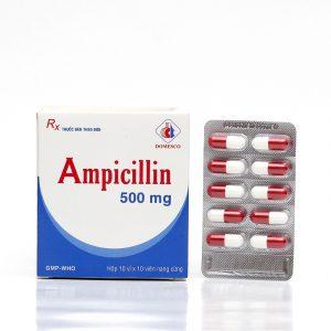 Ampicillin 500Mg Domesco