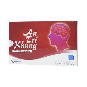 An Trí Khang 3X10 Anchau Pharma (Hộp 3 Vỉ x 10 Viên)