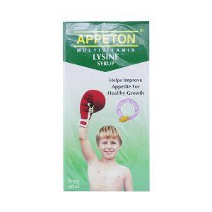 Apeton Lysine Syrup 60Ml (Chai)