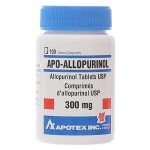Apo-Allopurinol 300Mg Apotex 100V