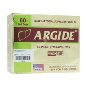 Argide (Hộp 4 vỉ x 5 ống dung dịch uống)