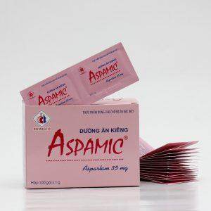 Aspamic đường ăn kiêng Domesco (Hộp 100 Gói )