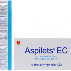 Aspilets EC 80 United (Hộp 100 Viên)