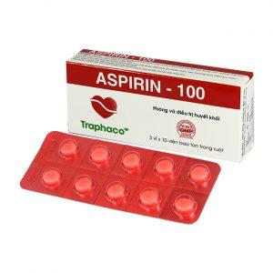 Aspirin 100mg Viên TPC (Hộp)