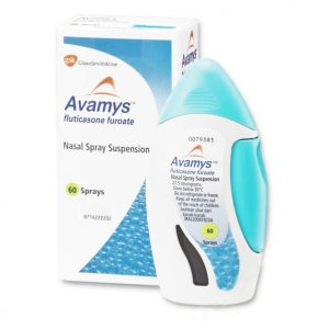 Avamys Spray 27.5Mcg 60 Doses