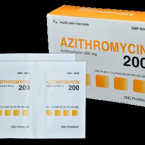 Azithromycin 200Mg Dhg 24 Gói