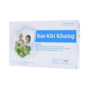 Bảo Khí Khang - Giúp Giảm Ho, Khó Thở (Hộp 2 Vỉ x 10 Viên)