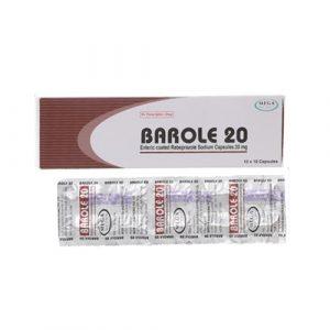 Barole 20mg Viên Ấn Độ (Hộp)