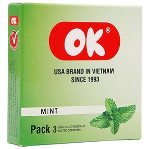 Bcs Ok Hương Bạc Hà 3's (hộp)