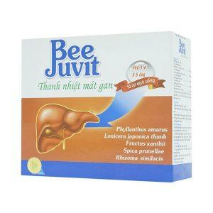 Bee Juvit Thanh Nhiệt Mát Gan (Hộp 4 Vỉ X 5 Ống 10Ml)