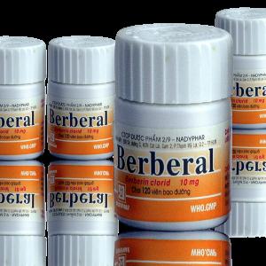 Berberal 10mg Nadyphar (lọ 120v)