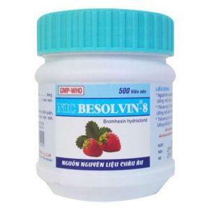 Besolvin 8mg Nic (Lọ 500v)