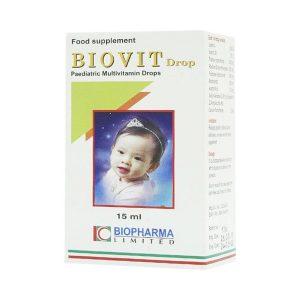 Biovit Drop 15Ml Biopharma (Hộp)