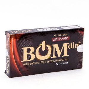 Bomdin - Tăng Cường Sinh Lý Nam Giới (Hộp 2 Vỉ x 10 Viên)