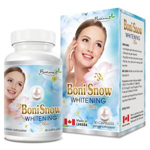Boni Snow Whitening Skin 30V (Hộp)