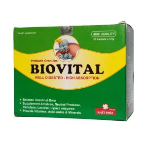 Cốm Vi Sinh Biovital - Giúp Trẻ Hết Biếng Ăn (Hộp)