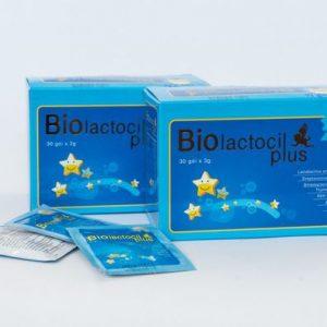 Cốm vi sinh Biolactocil Plus hộp 30 gói