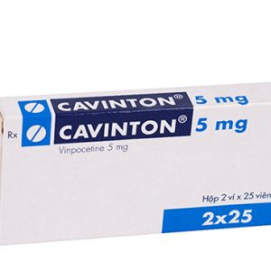 Cavinton 5Mg (2 Vỉ X 25 Viên)